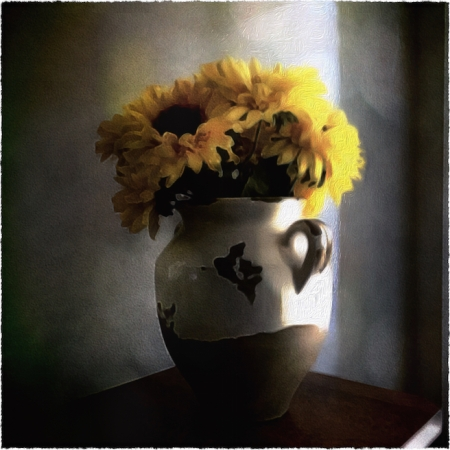 SunflowersOverpaintedComposite1Bokeh2MidtoneGrainFrayed 2