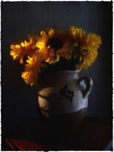 SunflowersEnfusion1Bokeh2Brushup 2