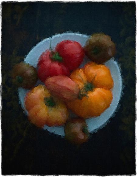 HeirloomTomatoes1Bokeh1VignetteMidtoneGritSatVib 2